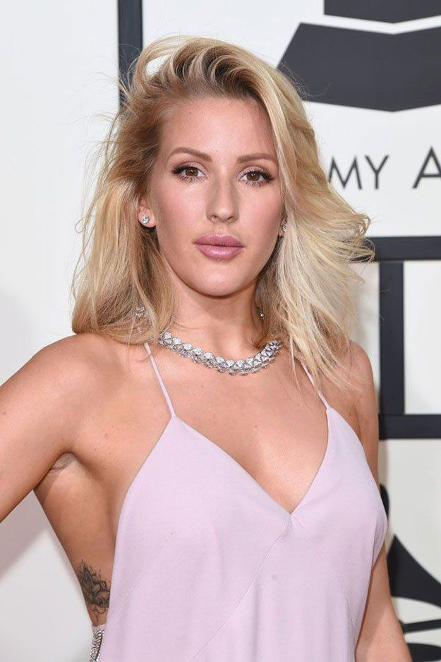 How To Do Ellie Goulding's Spring Makeup, check it out at http://makeuptutorials.com/celebrity-beauty-grammys-2016-makeup-tutorials