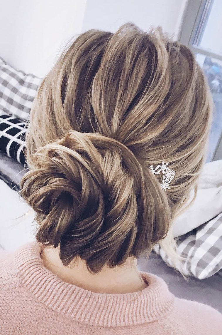 The Most Romantic Bridal Updos Wedding Hairstyles Updos For Medium Length Hair Medium Length Hair Styles Guest Hair