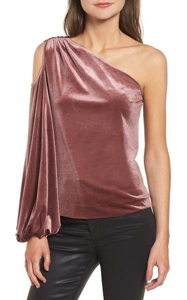 Rebecca Minkoff Minka One Shoulder Top (With images) | One ...