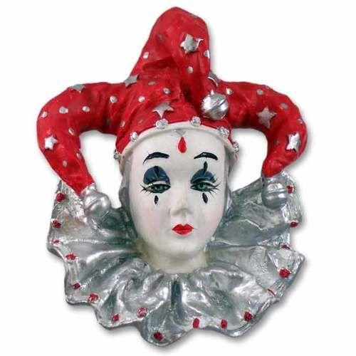 Pierrot Red Clown Magnet
