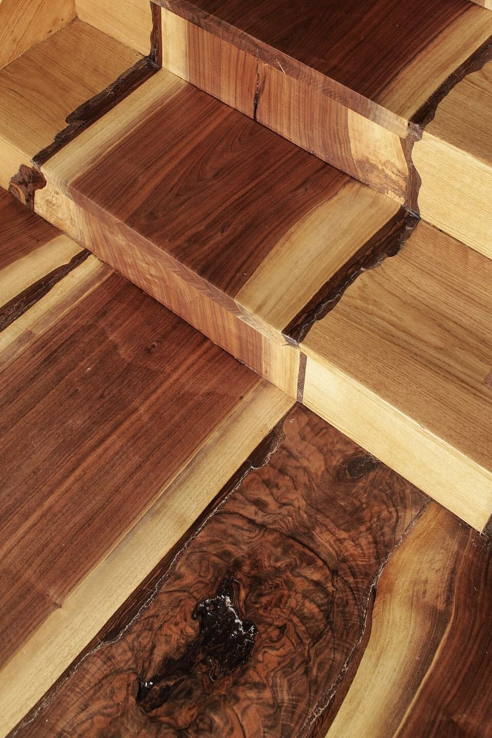 This Floor Was Created From Black Walnut Trees That Had