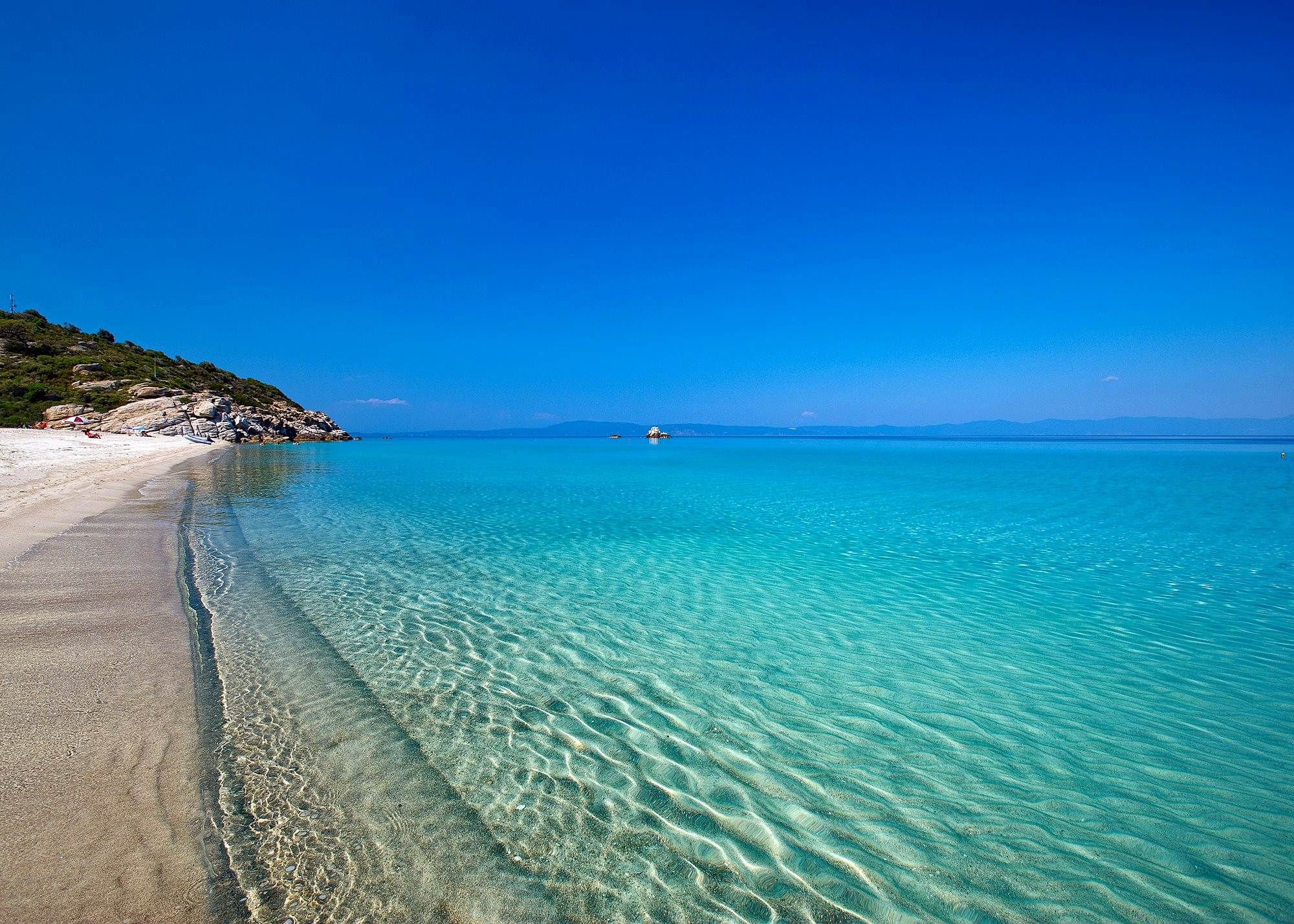 Lovely Summer Beach Paradise Wallpaper Hd Desktop | HD Wallpapers, HD Images, Art  Photos.