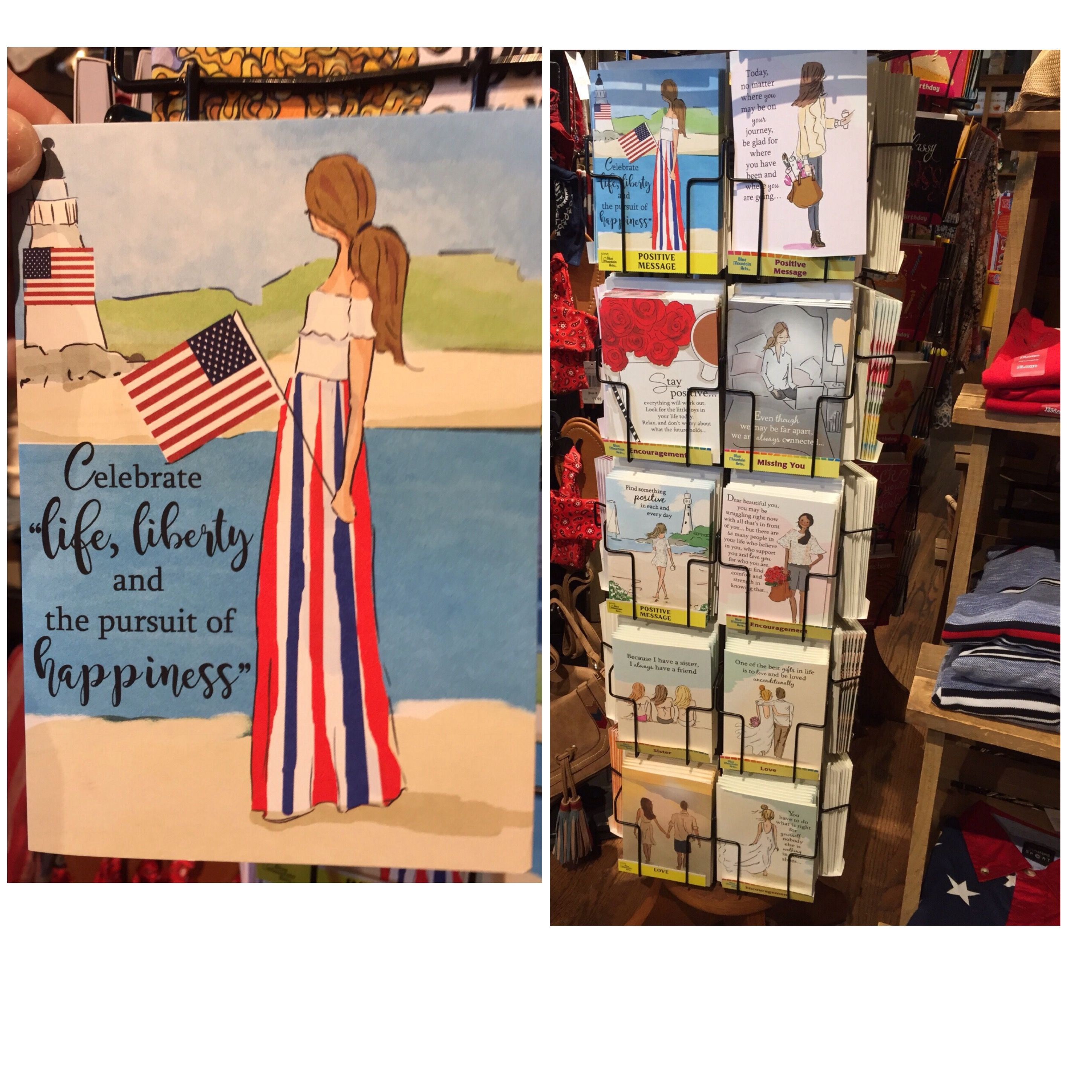 Cracker Barrel Stores Across The Country Now Have A New Supply Of Greeting Cards From Heather