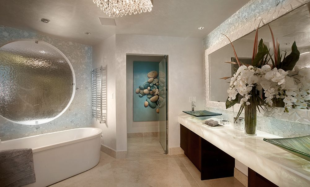 Zelman Interiors | Bathroom design, Modern white bathroom ...
