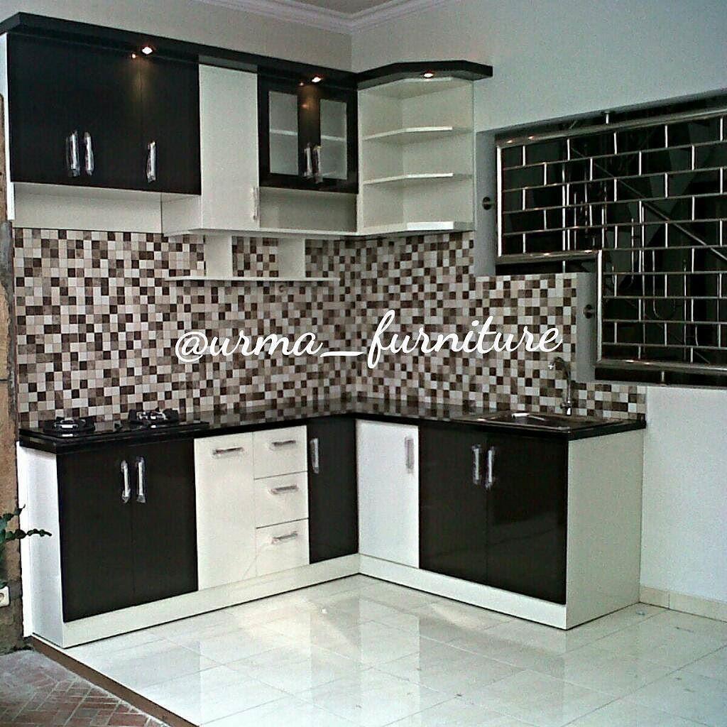 Kitchen set elegant black ngaliyan semarang wa 0811258979 kitchensetminimalis kitchensetsemarang dhekainterior inter furniture interior kitch