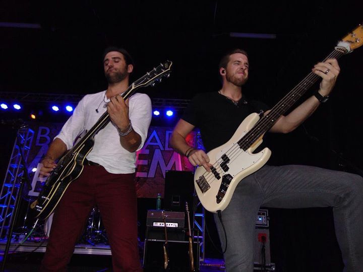 Josh Bryant and Brandon Robold from the band Backroad Anthem