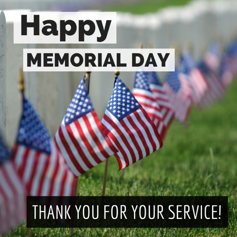 Happy Memorial Day Thank You For Your Service With Images