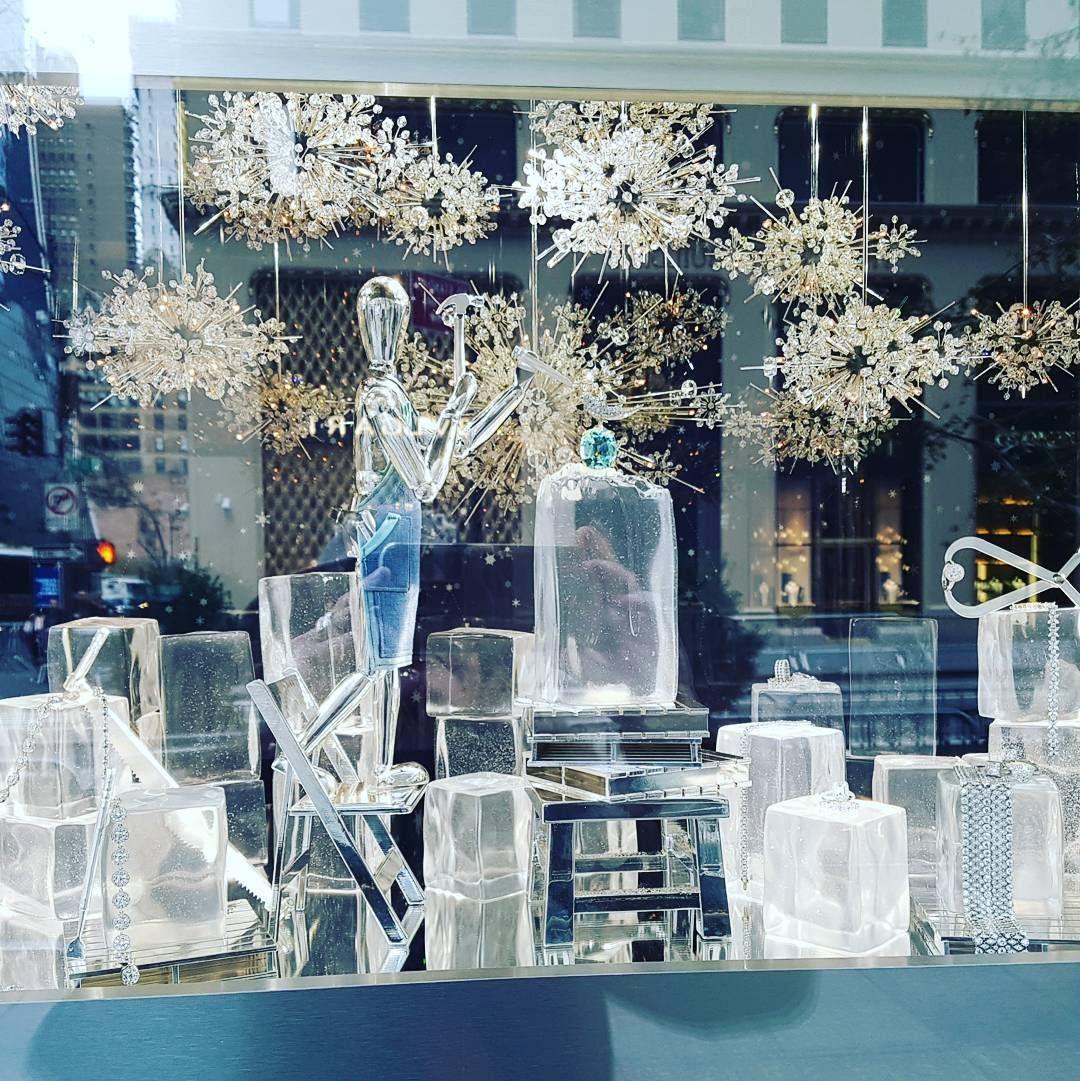 "Adriana Kyzyk on Instagram: ""#tiffanywindows #schlumberger #christmasinnyc"""