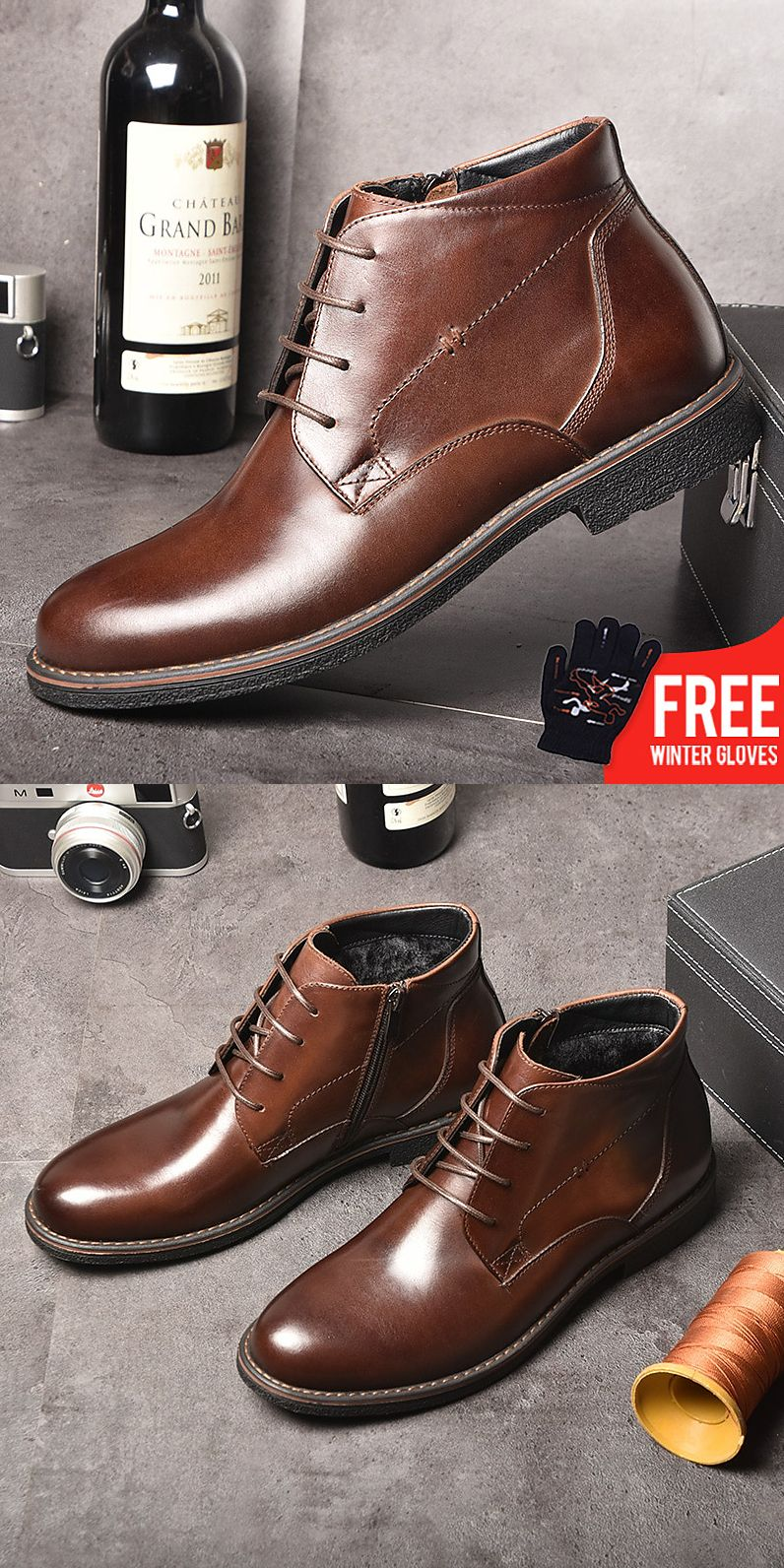 Genuine Leather Men Boots On Aliexpress