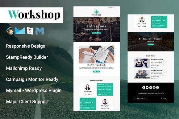 Workshop - Responsive Email Template @creativework247 Email Design