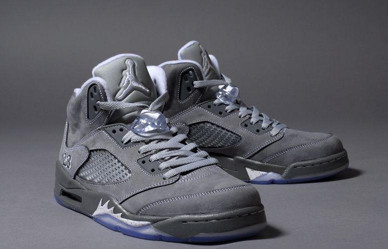 7e4bba7c7ab6b3 jordan 5 wolf. Grayed out Air Jordans ...