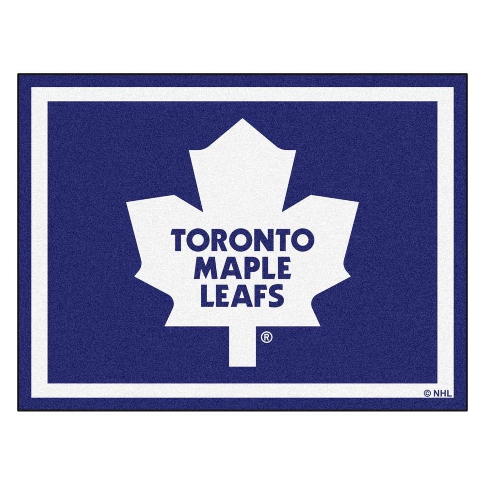 FANMATS NHL Toronto Maple Leafs Navy Blue 8 Ft. X 10 Ft