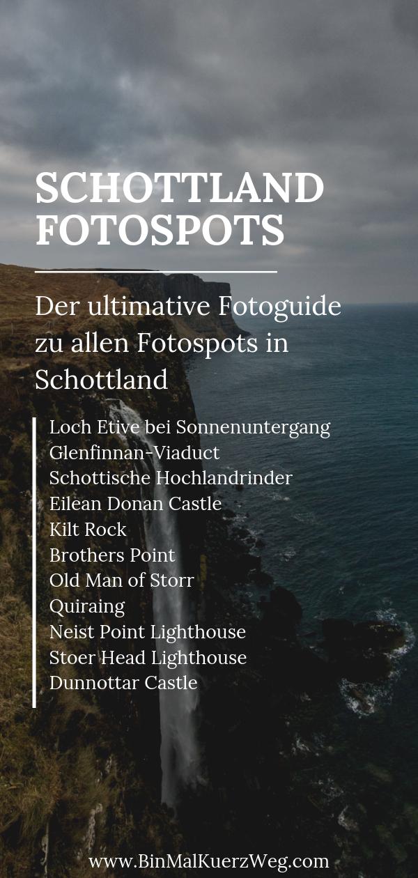 Schottland Fotospots
