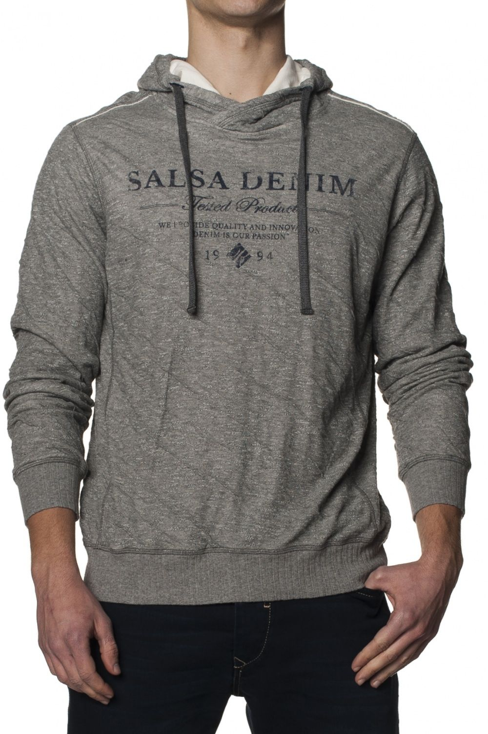 Grey Sweater #salsajeans #lifeisbetterindenim #sweater