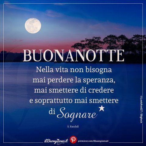 Immagine Della Buonanotte Con Luna Sul Mare Buona Notte Good