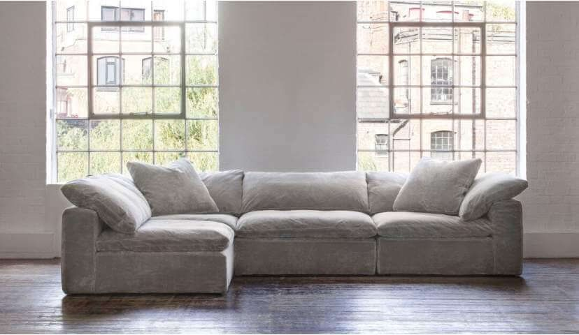 Feather Extra Deep Fabric Modular Sofa