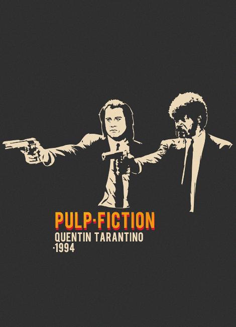 Pulp Fiction By Nekem On Deviantart Pulp Fiction Cinema Posters Best Movie Posters