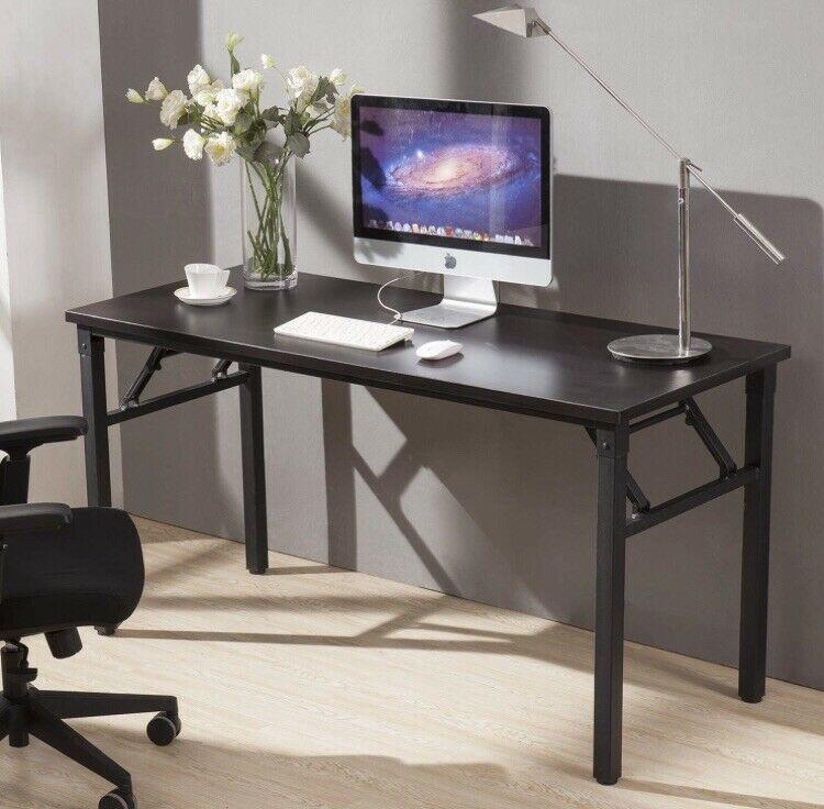 Cuboc 59 Large Size Modern Computer Desk Long Office Writing Desk