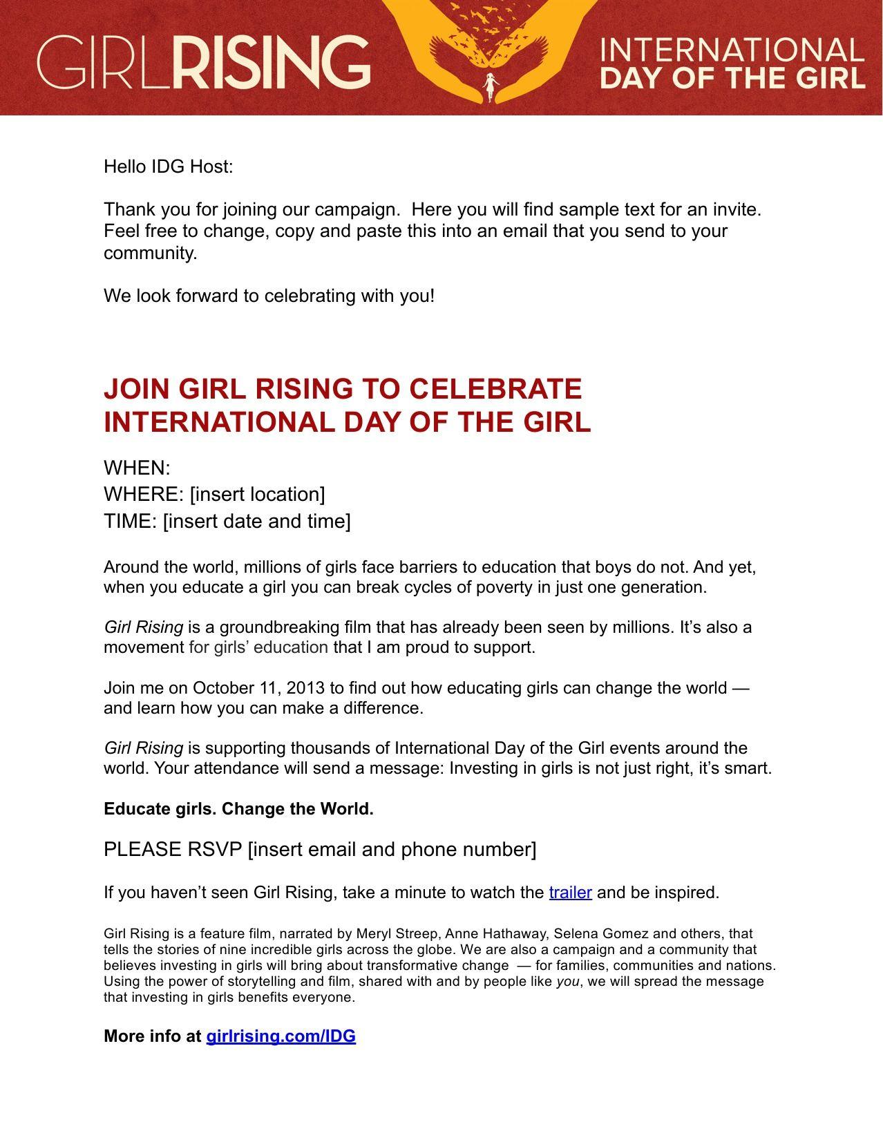 Email Invite Template  Clean Invitations    Email Invites