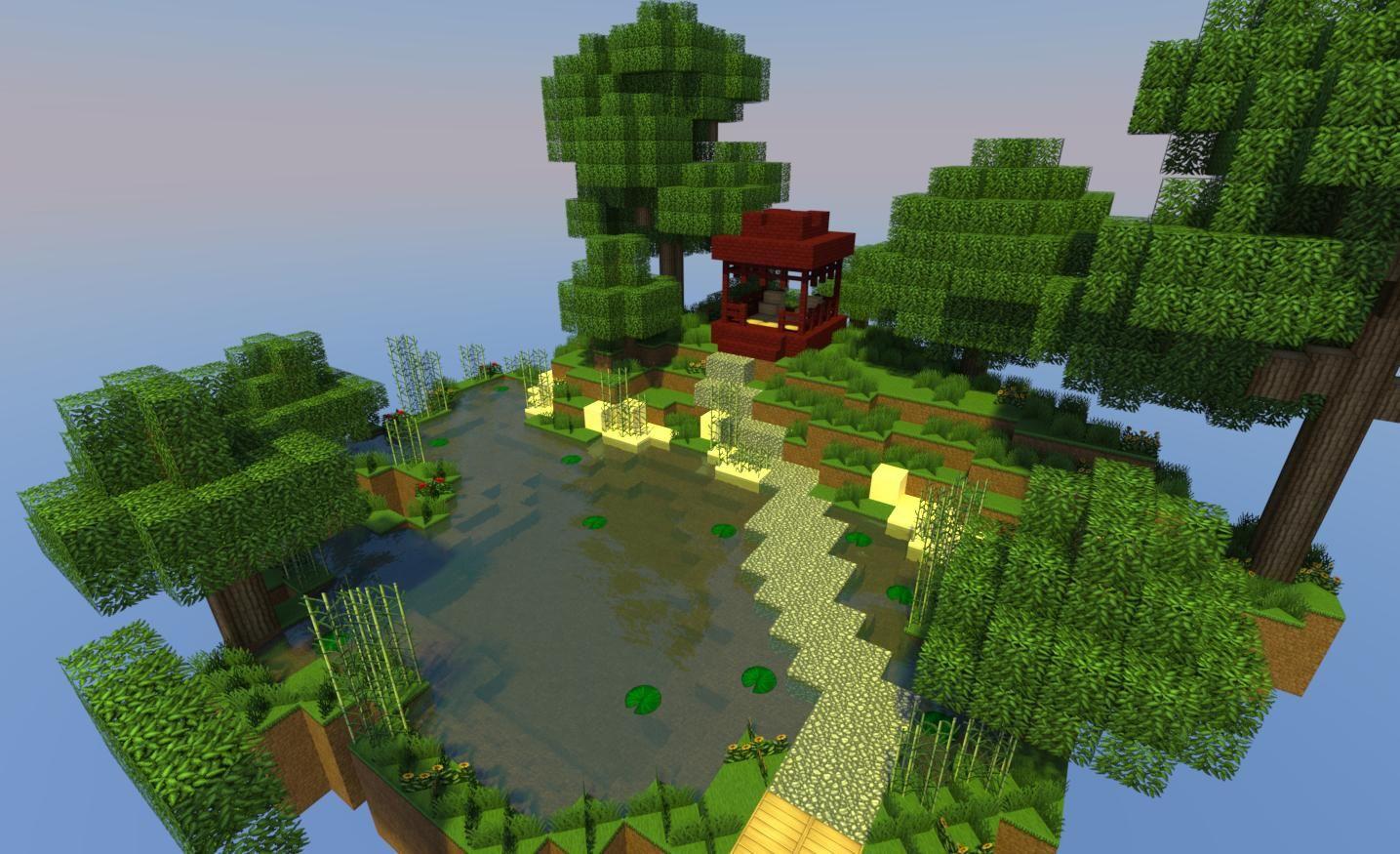 minecraft garden | Minecraft garden, Japanese garden ...