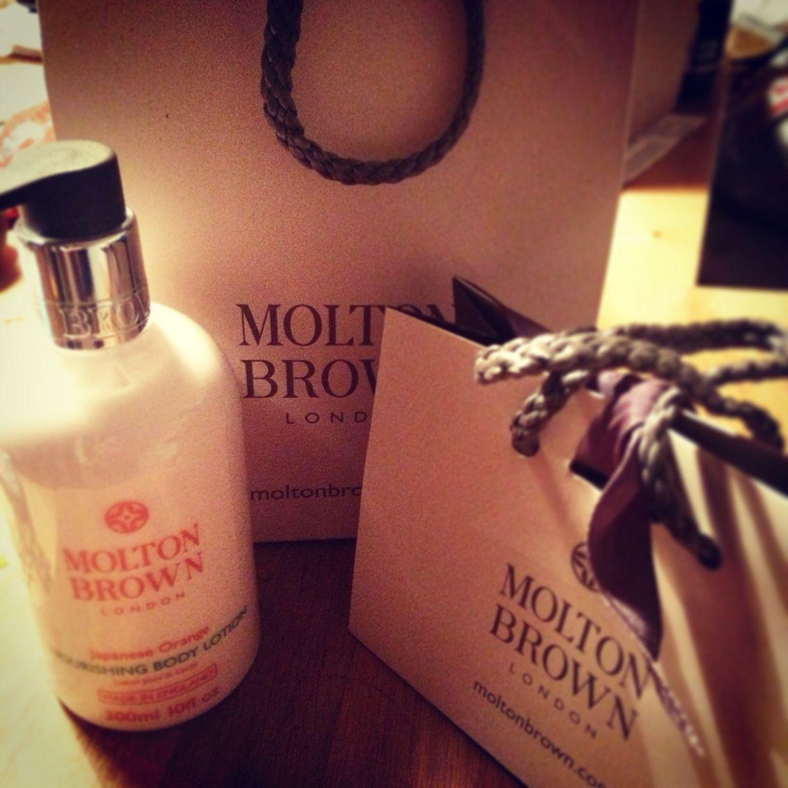 Little treat #moltonbrown