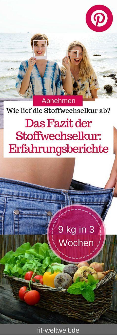 Ernährung: Stoffwechselkur Erfahrungsbericht und Resümee (Stoffwechselkur gratis pdf)