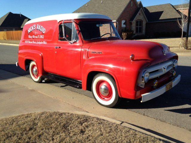 1953 Ford F100 Panel Truck 1953 Ford F100 Panel Truck Model Trains