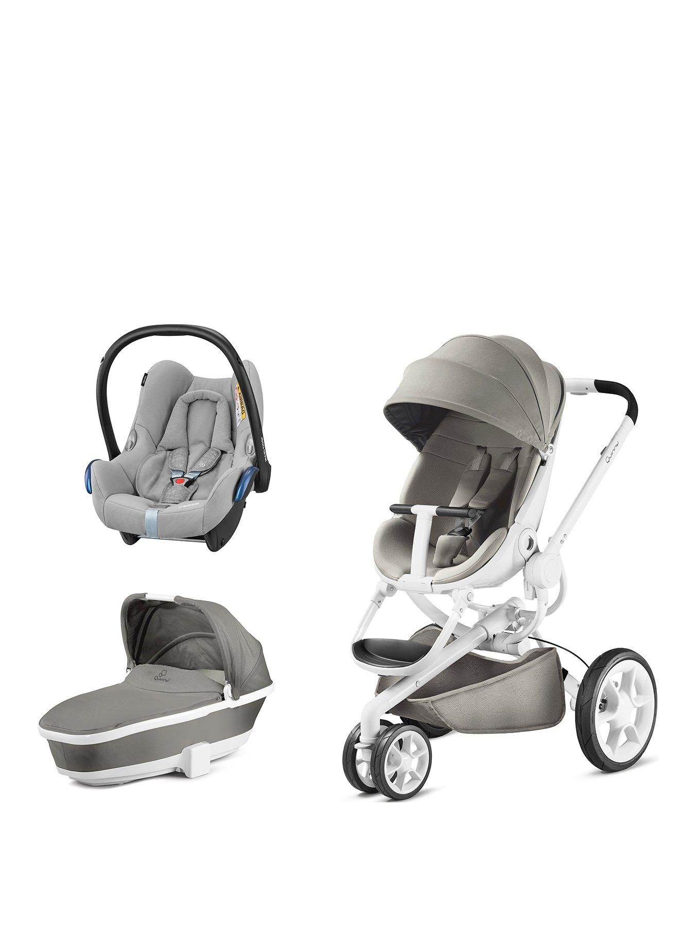 Quinny Quinny Moodd 3 In 1 Package With Foldable Carrycot And Maxi