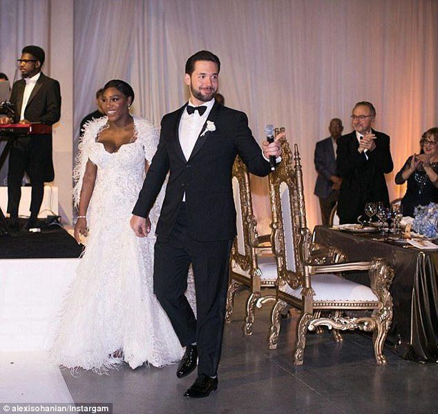 Serena Williams And Alexis Ohanian New Orleans Fairytale Ball Wedding Blog 5 Star Wedding Directory Serena Williams Wedding Serena Williams Husband Wedding Dresses