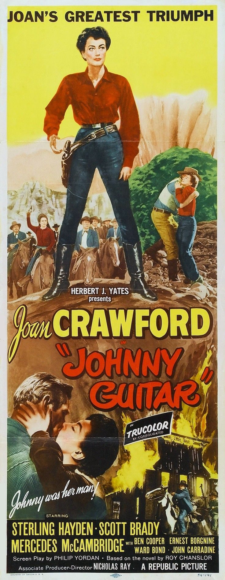 In the pilot episode, johnny is hired to provide music for a wedding and discovers that the bride is an unwilling participant in the proposed nuptials. Johnny Guitar, 1954 | Дизайн кухонь