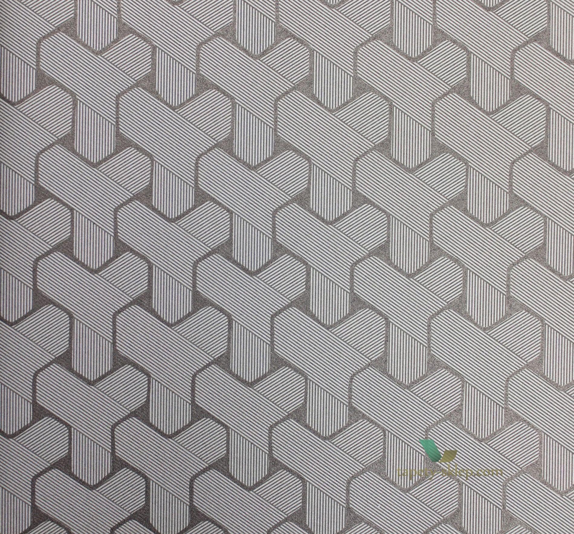 461 tapeta hooked on walls 66533 ypsilon gentle groove - gentle, Wohnzimmer dekoo