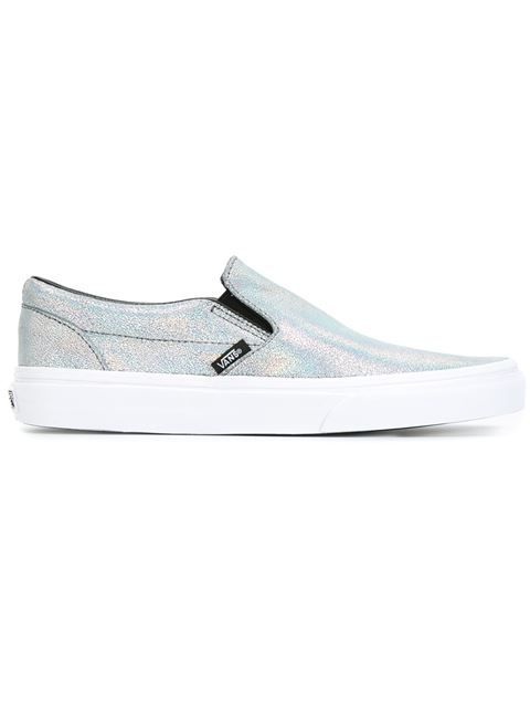 d2e4c0e21f8d87 VANS Metallic Sheen Slip-On Sneakers.  vans  shoes  sneakers