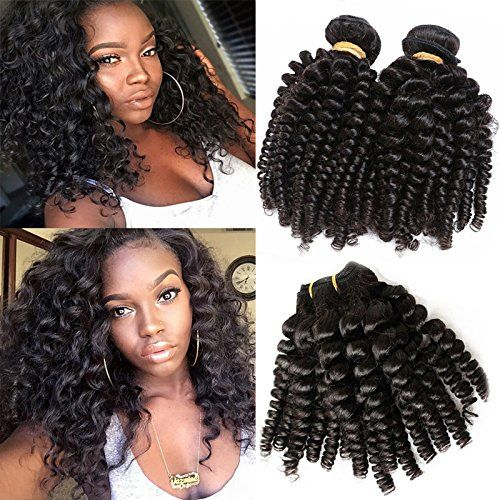 Foxyshair Brazilian Remy Loose Curly Human Hair Extensions Natural Color Bouncy Curly Human Curly Human Hair Extensions Human Hair Wefts Beauty Salon Equipment