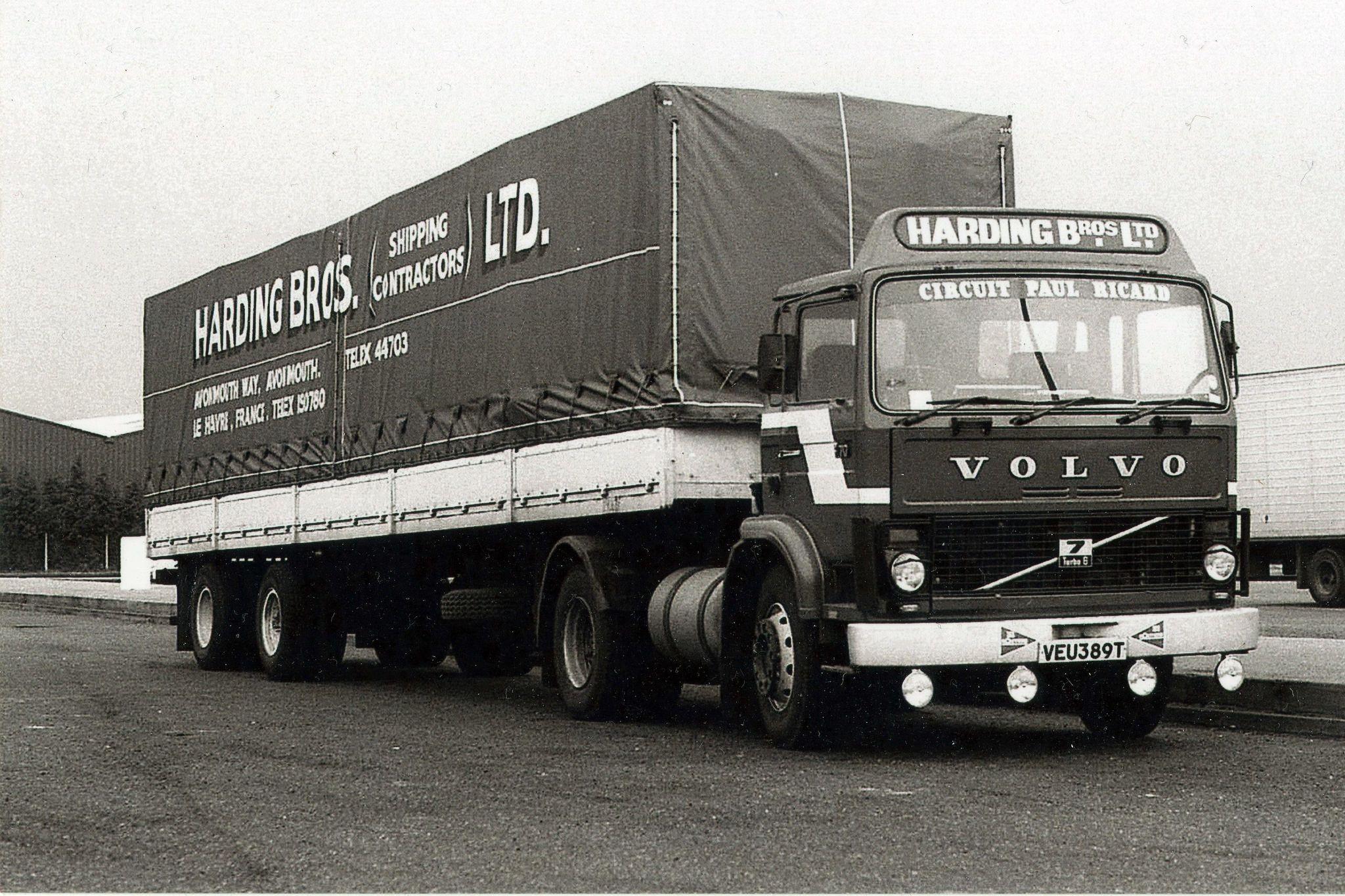 Harding Bros Shipping Contractors Avonmouth Bristol Volvo Classic Trucks Volvo Trucks