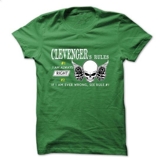 CLEVENGER RULE\S Team  - #polo shirt #tumblr sweatshirt. ORDER NOW => https://www.sunfrog.com/Valentines/CLEVENGER-RULES-Team-.html?68278