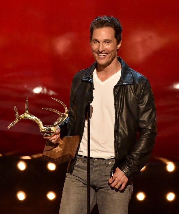 Matthew McConaughey no Guys Choice 2014 (Foto: AFP / Agência)