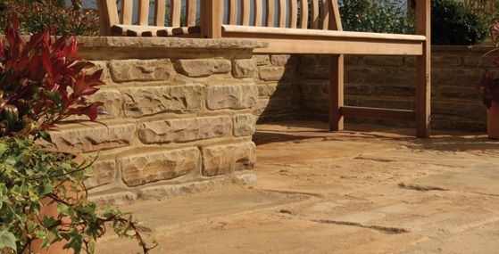 Bradstone Restoration Sandstone Paving