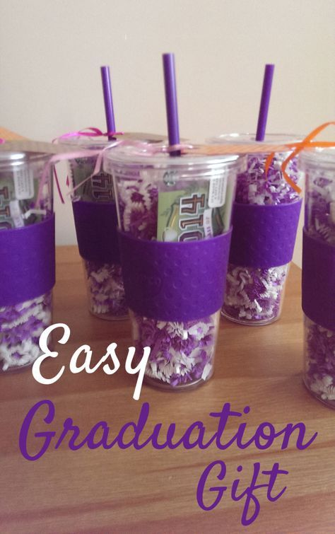 Easy Graduation Gift College Graduation Gifts Diy