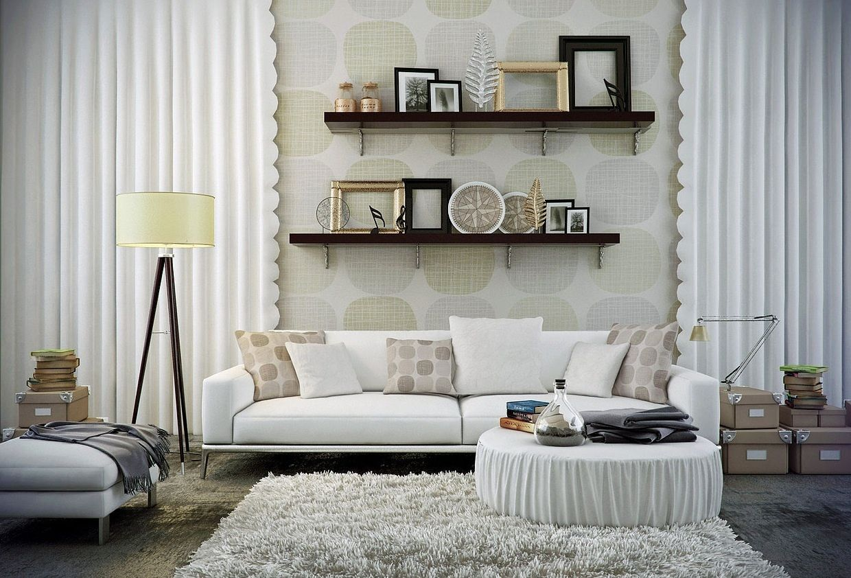Urban Living Room Design Fascinating Tips To Decorate A Living Room With White Walls