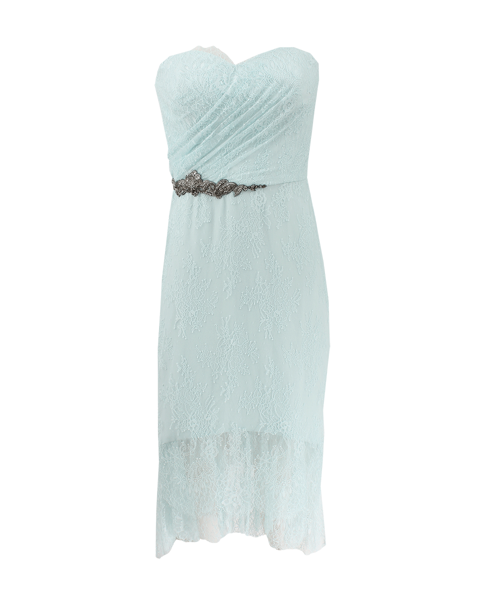 NOTTE BY MARCHESA Strapless Embroidered Waist Lace Dress SKU ...