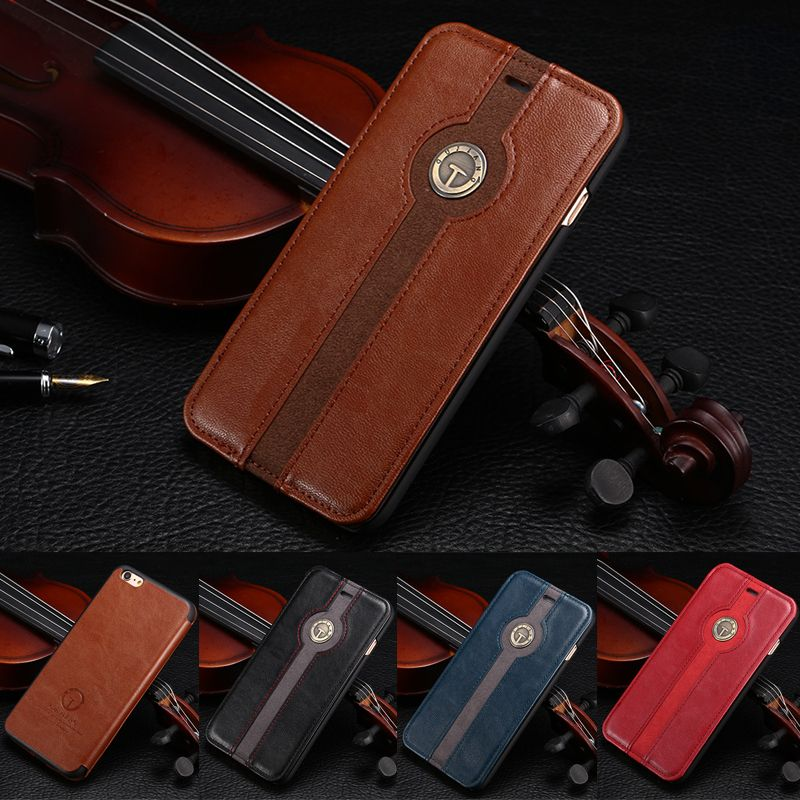 Business Classic Wallet Flip Leather Case For Apple iPhone 6 4.7 inch Phone Bag For iPhone 6 Plus 5.5 inch Back Cover Holster iPhone Web Shop |