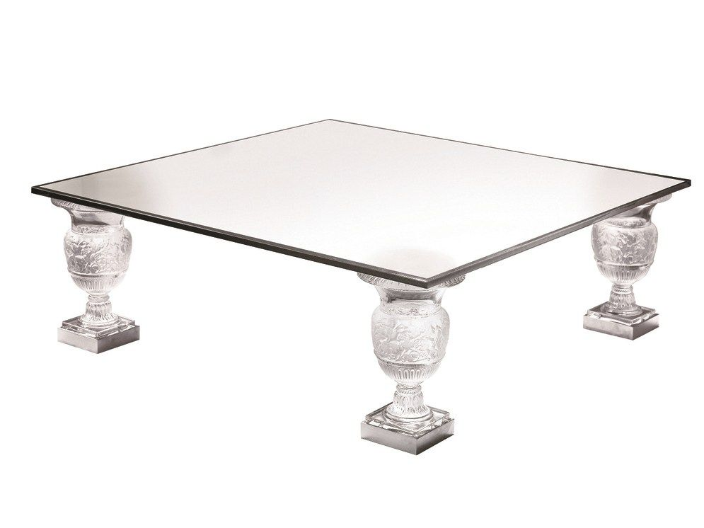High Quality SQUARE CRYSTAL COFFEE TABLE VERSAILLES INTERIOR DECORATION COLLECTION BY  LALIQUE | DESIGN LALIQUE