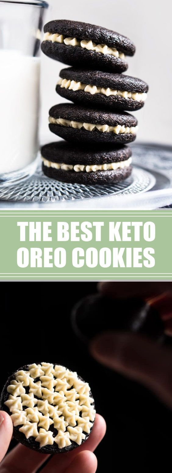 62 reviews:The Best Keto Oreo Cookies   Just like the original, expect from these keto oreo cookies a scrumptious vanilla cream sandwiched between two (properly crisp!) dark chocolate cookies… but at just 1g net carb a pop!   day★★★★★ 62 reviews:The Best Keto Oreo Cookies   Just like the original, expect from these keto oreo...