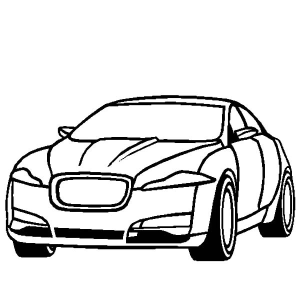 Jaguar Xf Cars Cars Coloring Pages Bulk Color Cars Coloring Pages Jaguar Xf Jaguar