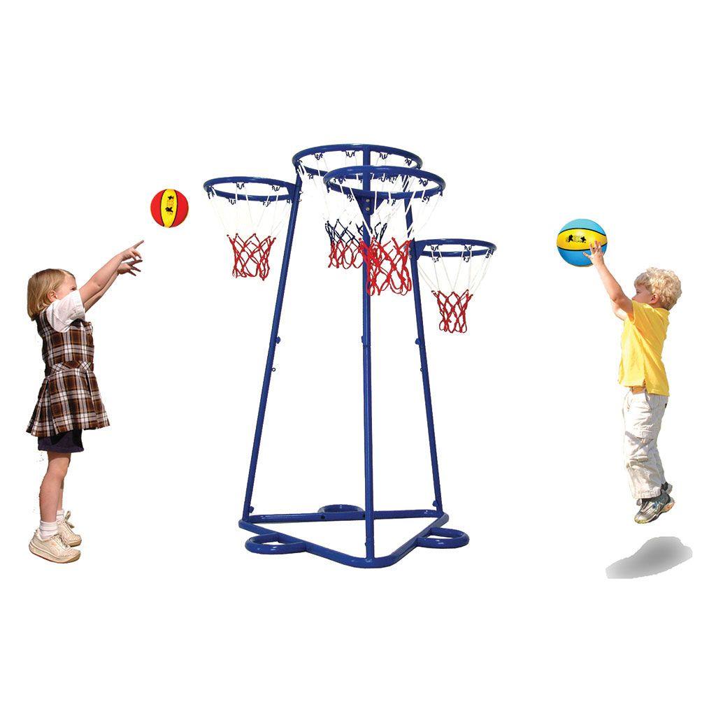 BASKETBALL AND NETBALL SHOT TRAINER Netball, Play