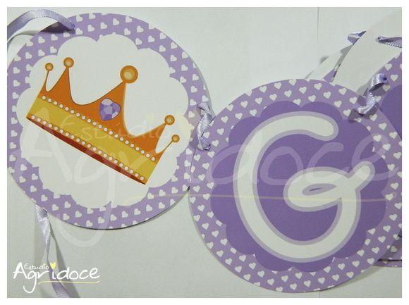 Bandeirola Bebê Princesa