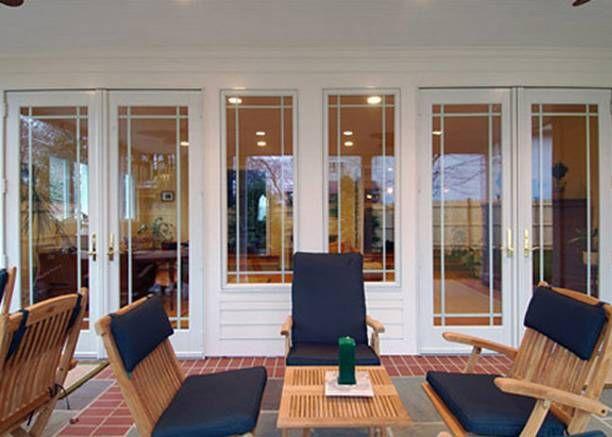 French Patio Doors   Acri Windows Millennium Power Pane Insulating Glass  System