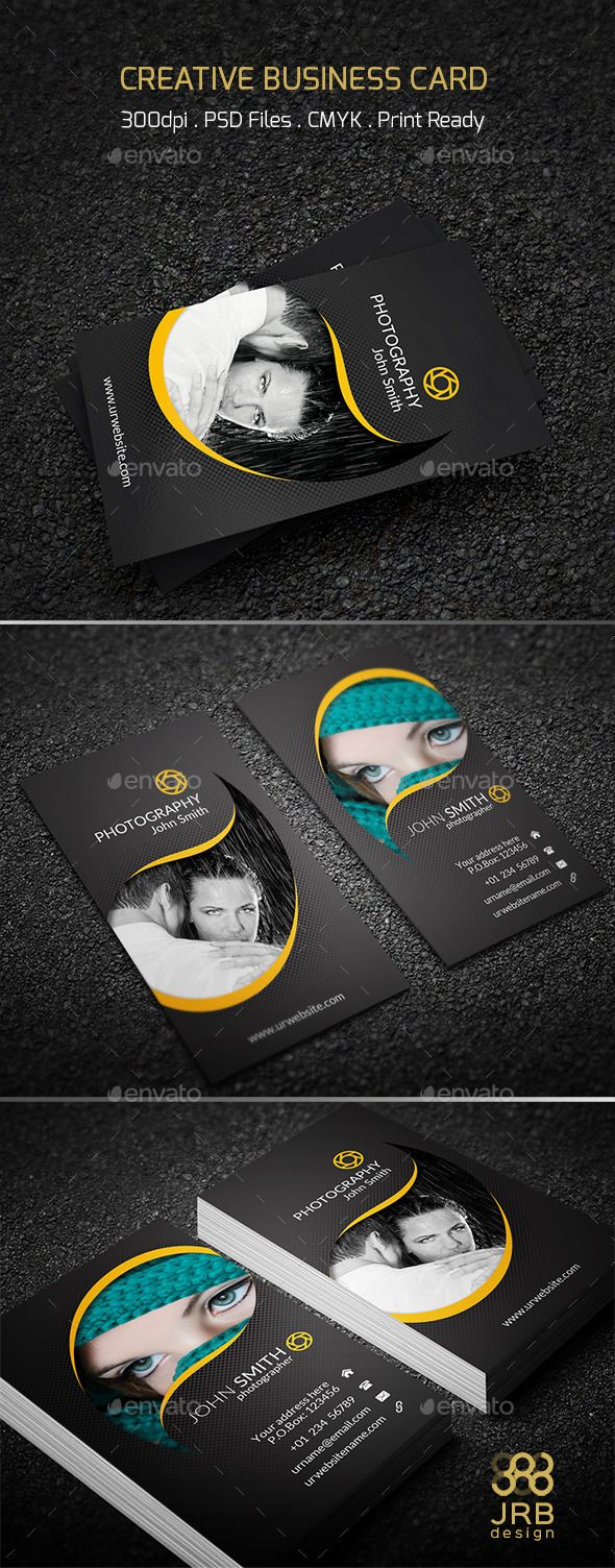 Creative Business Card Template Businesscard Businesscardtemplate Do Business Cards Creative Photography Business Cards Business Cards Creative Templates
