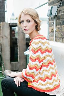 Madrona Cardigan by Rohn Strong Published in  Inside Crochet, Issue 57, 2014