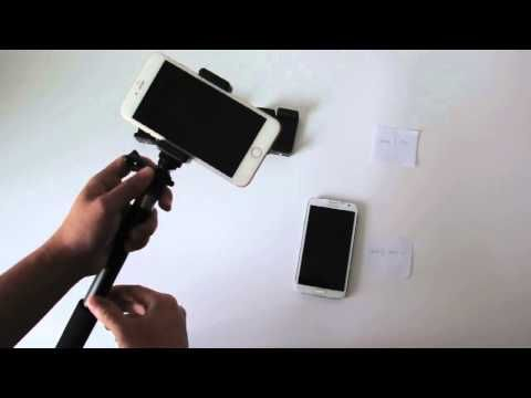 Rhythm Pro Selfie Stick - Fits Galaxy Note 2 & iPhone 6 Plus
